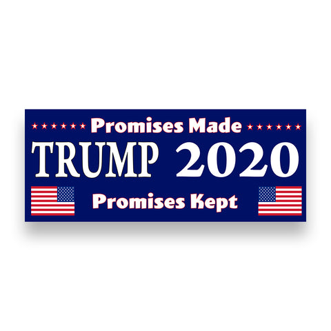 TRUMP 2020 Vinyl Banner (Size Options)