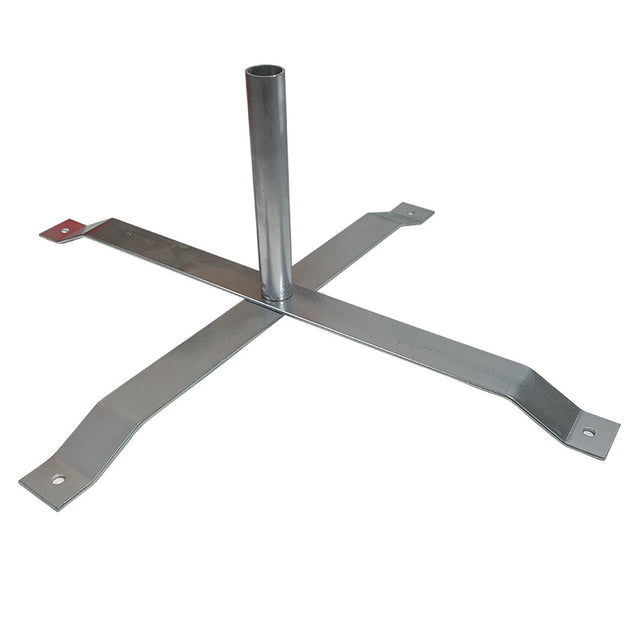 Feather Banner Cross Mount or X-Stand For Our Hybrid & Aluminum Poles