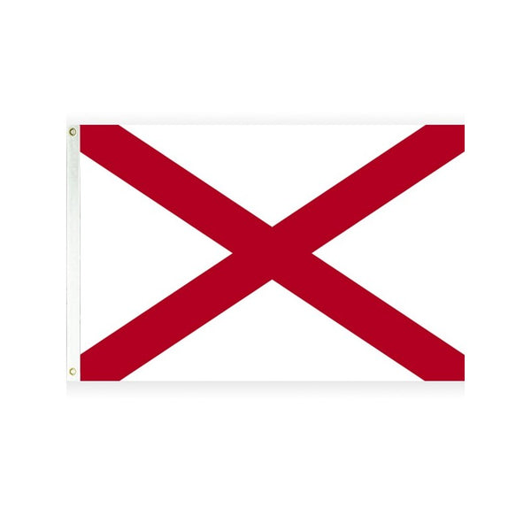 Alabama 3x5 Polyester Flag