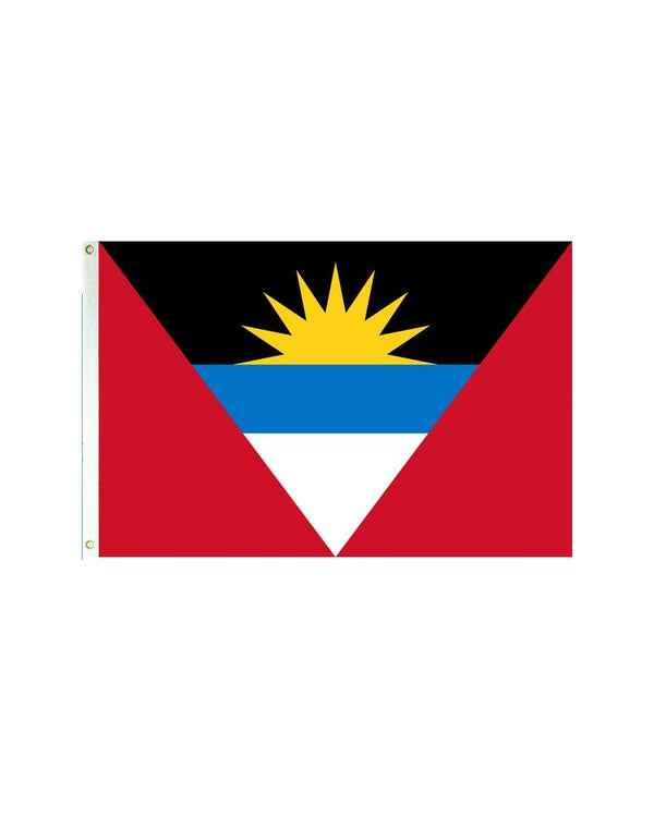 Antigua and Barbuda 3x5 Polyester Flag