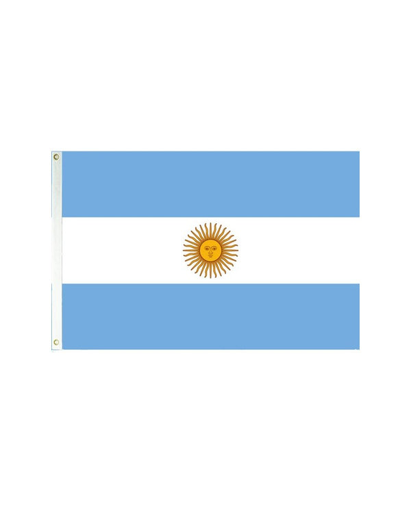 Argentina 3x5 Polyester Flag