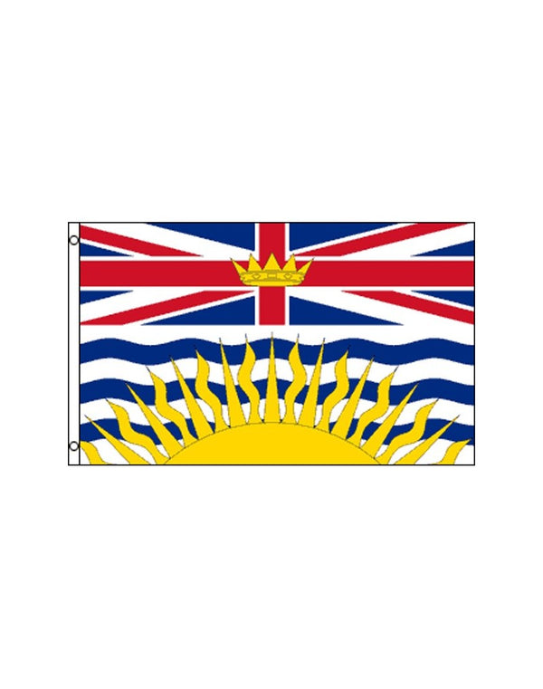 British Columbia 3x5 Polyester Flag
