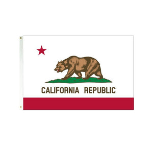California 3x5 Polyester Flag