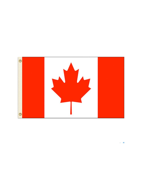 Canada 2x3 Polyester Flag
