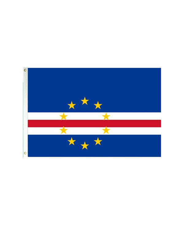 Cape Verde 3x5 Polyester Flag