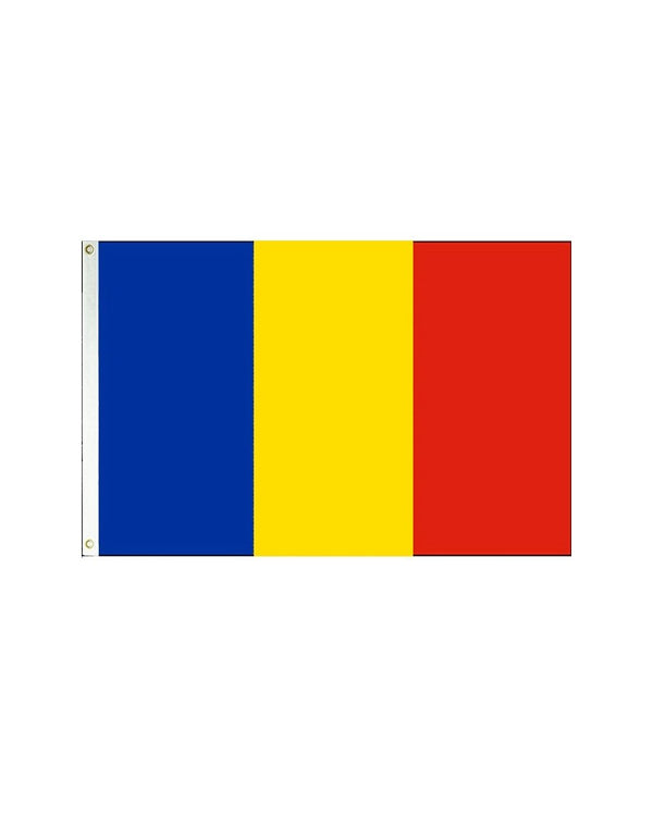Chad 3x5 Polyester Flag