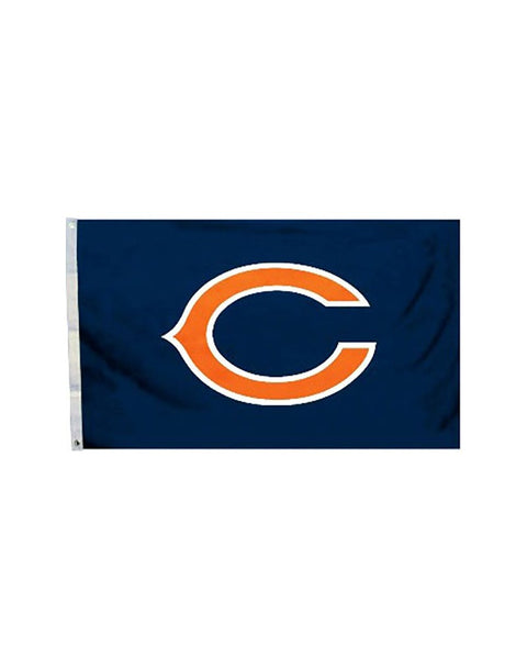 Chicago Bears (Logo) 3x5 Polyester Flag