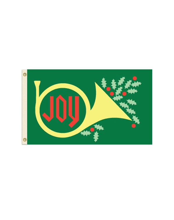 Christmas Joy 3x5 Polyester Flag