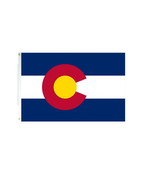 Colorado 3x5 Polyester Flag