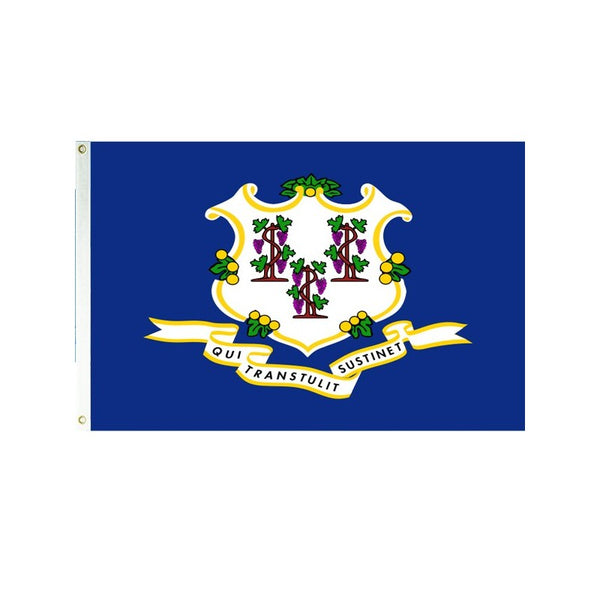 Connecticut 3x5 Polyester Flag