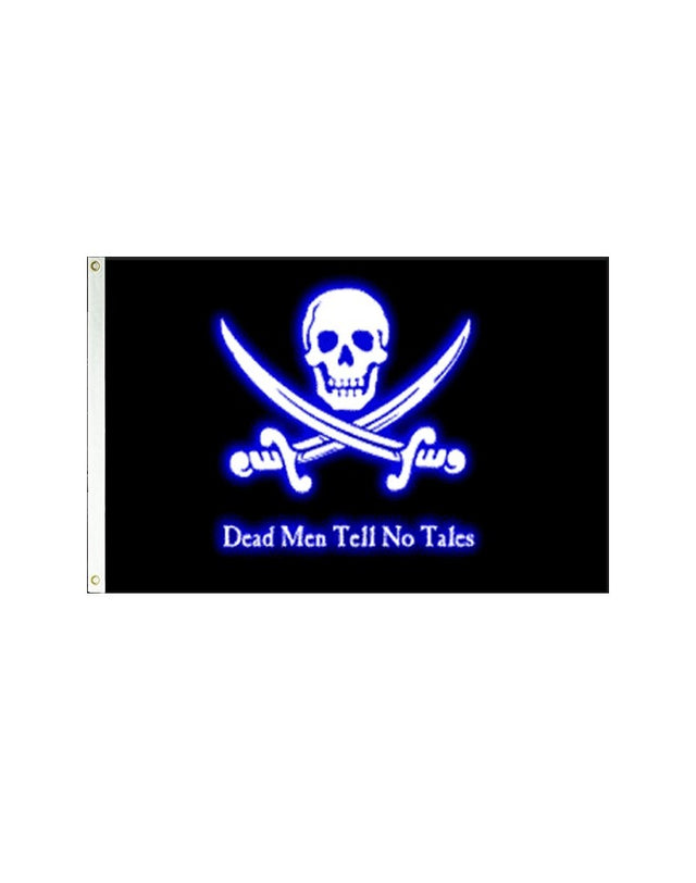 Dead Men Tell No Tales Pirate 3x5 Polyester Flag