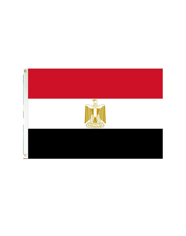 Egypt 3x5 Polyester Flag