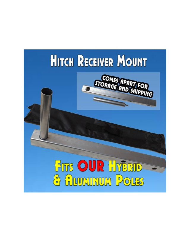Hitch Receiver Mount (Flutter and Windless Poles) 2""