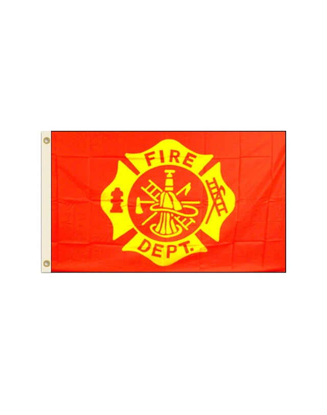 Fire Department  3x5 Polyester Flag