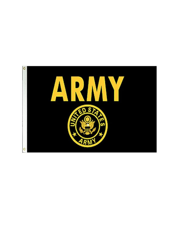 "Flag of the US Army ""Gold"" 3x5 Polyester Flag"