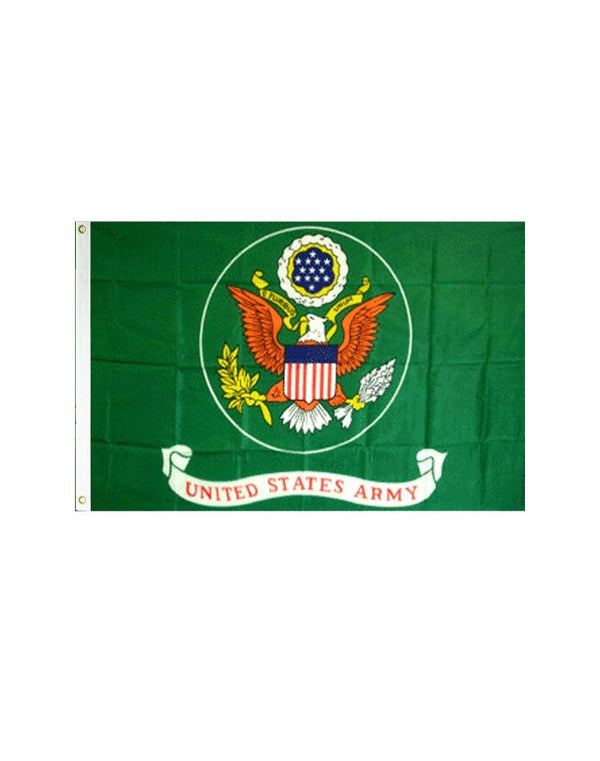 Flag of the US Army (Green) 3x5 Polyester