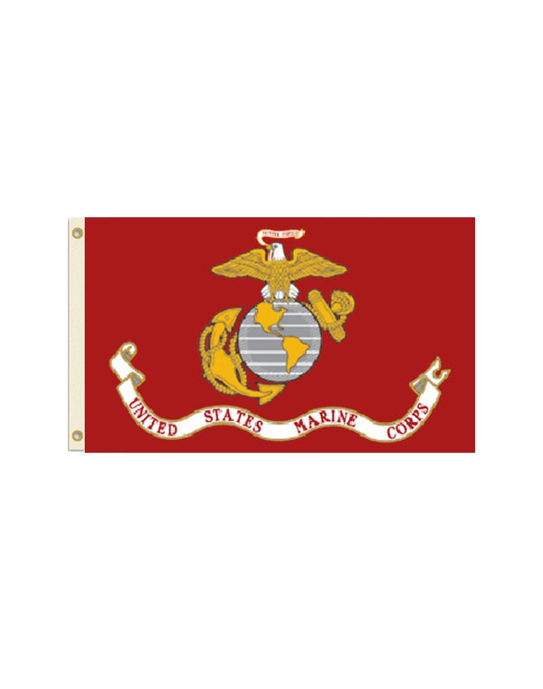 Flag of the US Marine Corps 2x3 Polyester Flag