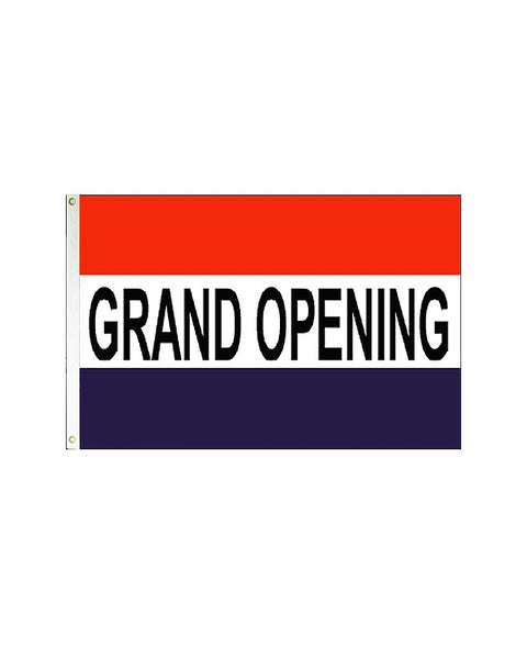 Grand Opening 3x5 Polyester Flag