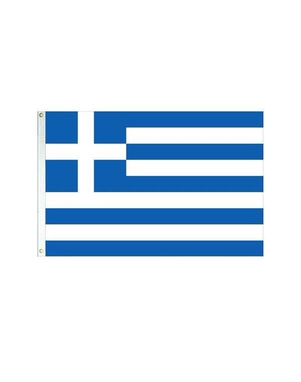 Greece 3x5 Polyester Flag