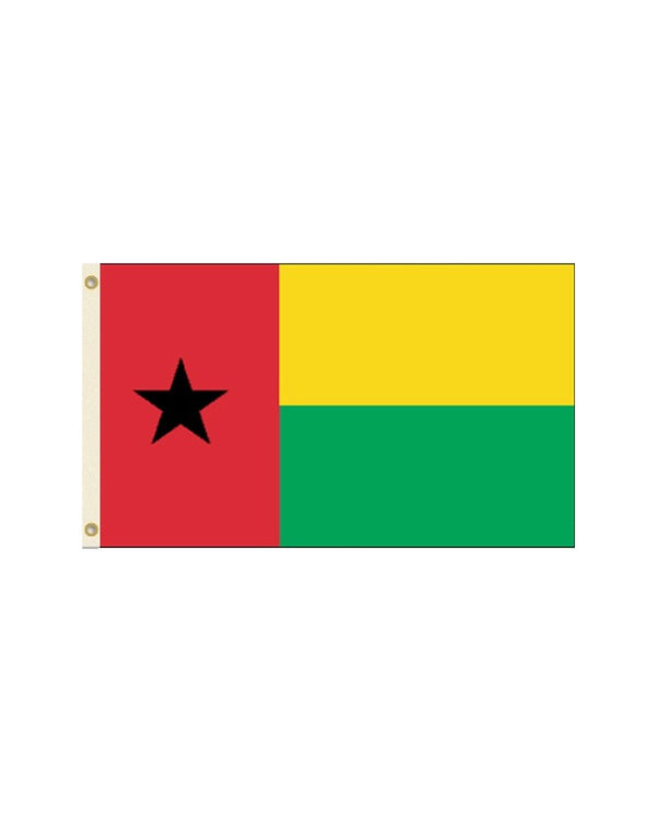 Guinea-Bissau 3x5 Polyester Flag