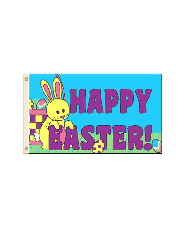 Happy Easter 3x5 Foot Polyester Flag