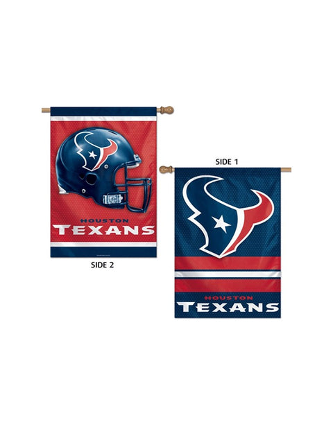 Houston Texans Two Sided 28x40 Vertical/Banner Flag