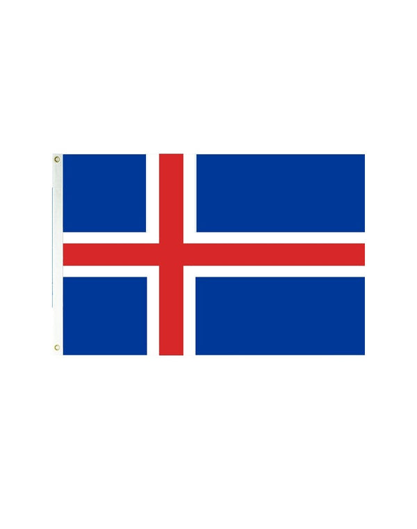 Iceland 3x5 Polyester Flag