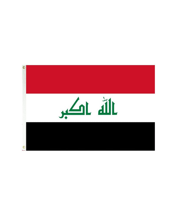 Iraq 3x5 Polyester Flag