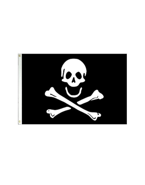 Jolly Roger Poison Pirate 3x5 Polyester Flag