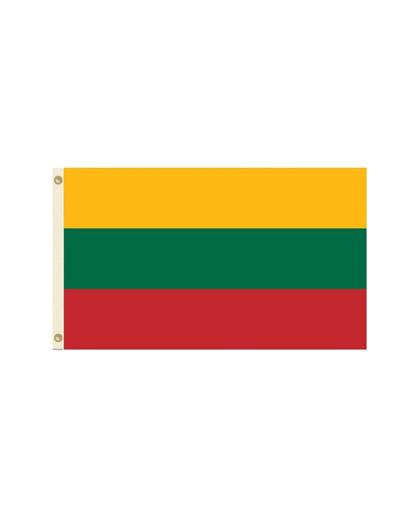 Lithuania 3x5 Polyester Flag