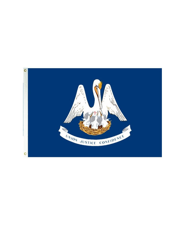 Louisiana 3x5 Polyester Flag