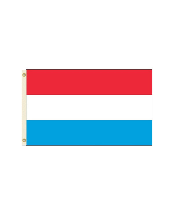 Luxembourg 3x5 Polyester Flag