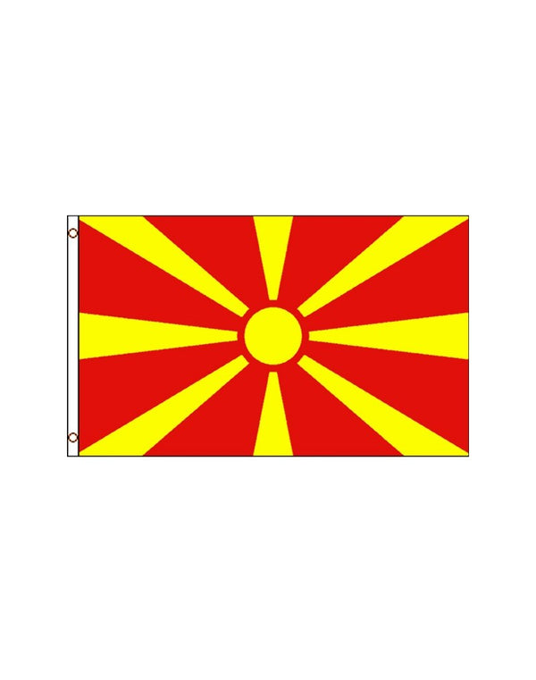 Macedonia 3x5 Polyester Flag
