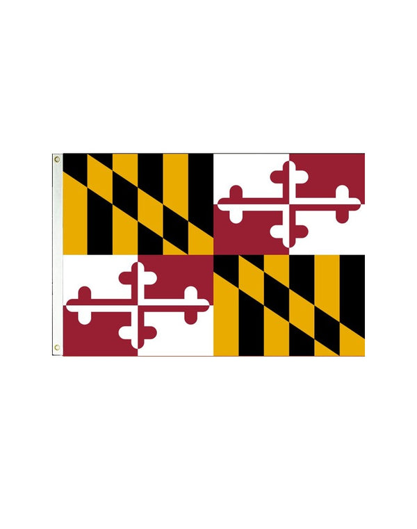Maryland 3x5 Polyester Flag