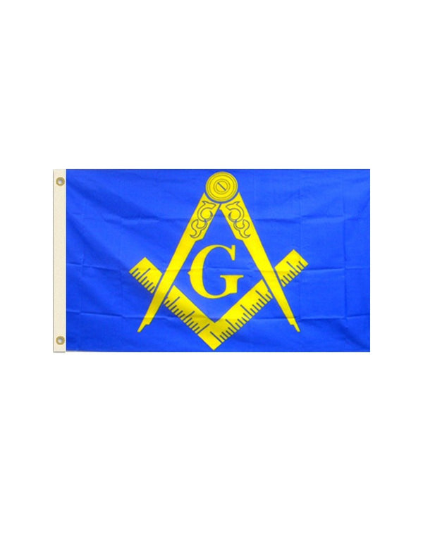 Masonic Yellow 3x5 Polyester Flag