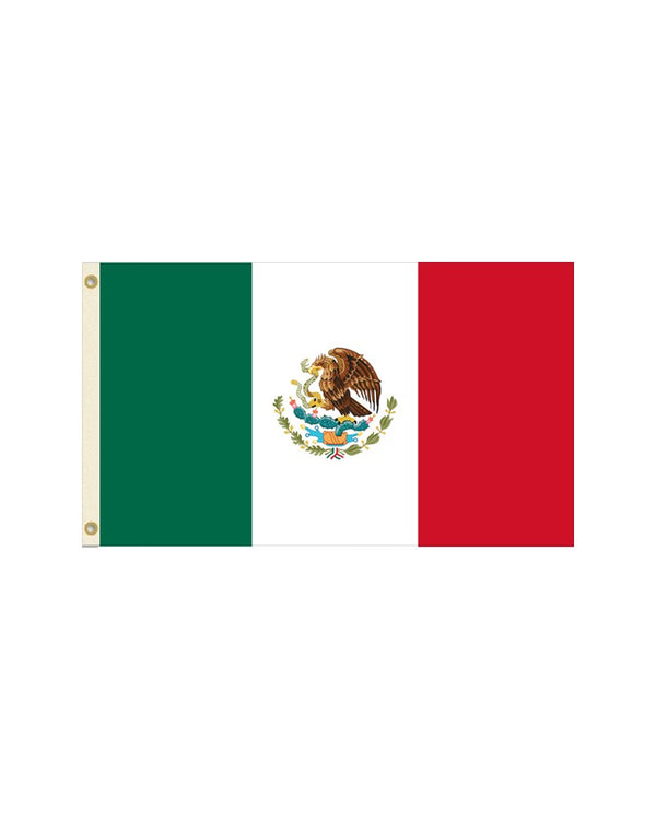 Mexico 2x3 Polyester Flag