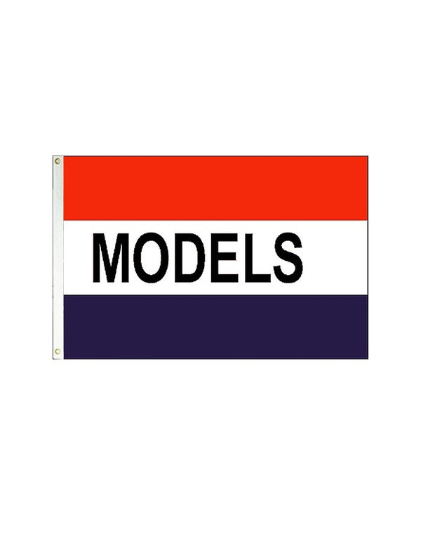 Models 3x5 Polyester Flag