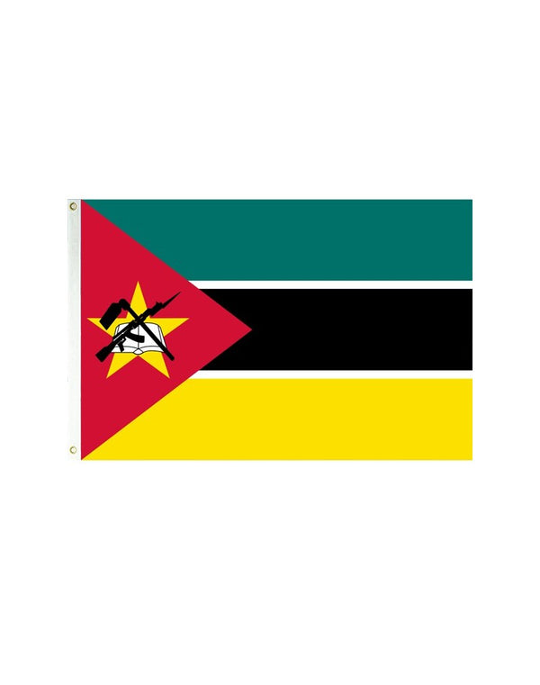 Mozambique 3x5 Polyester Flag