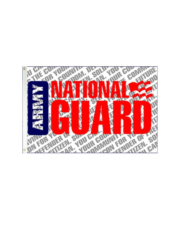 National Guard 3x5 Polyester Flag