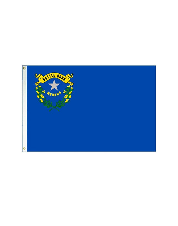 Nevada 3x5 Polyester Flag