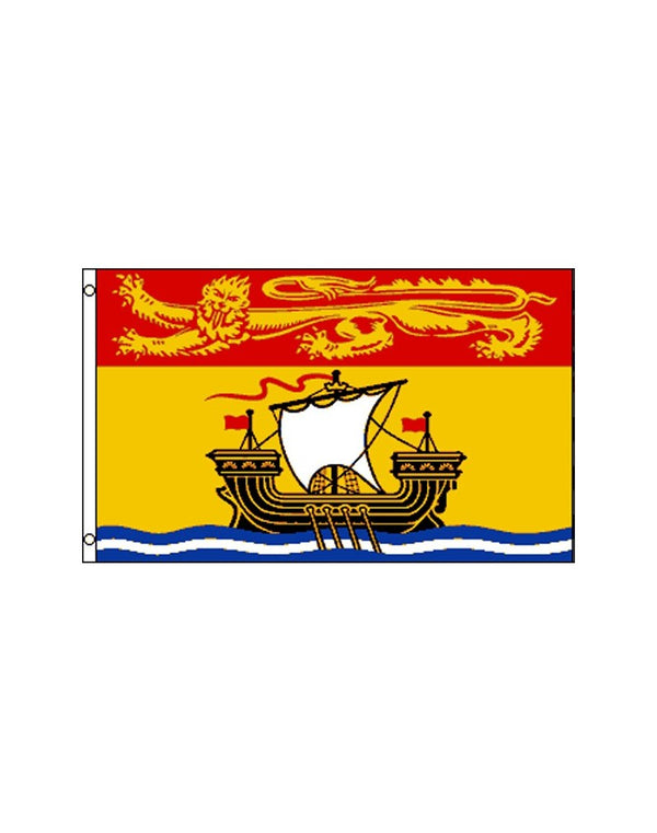 New Brunswick 3x5 Polyester Flag