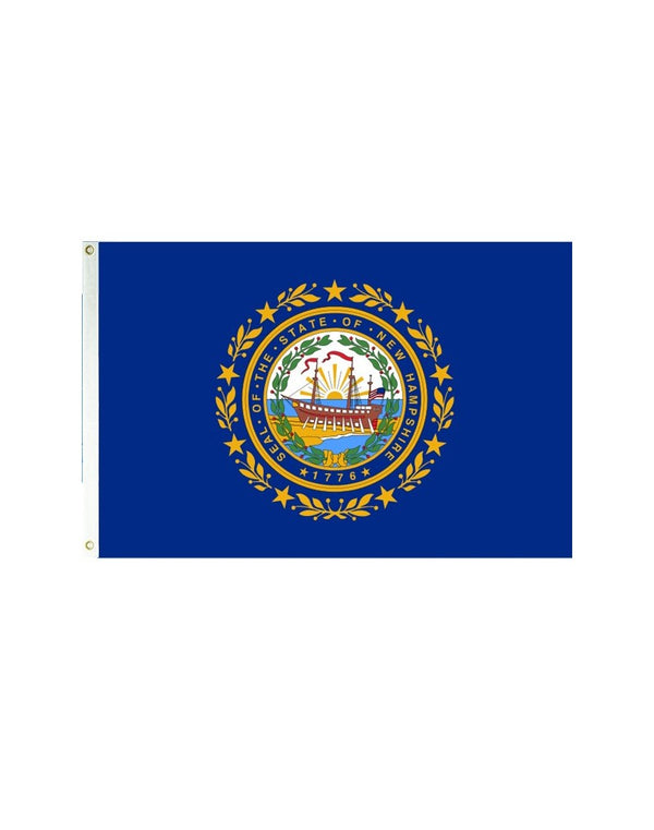 New Hampshire 3x5 Polyester Flag