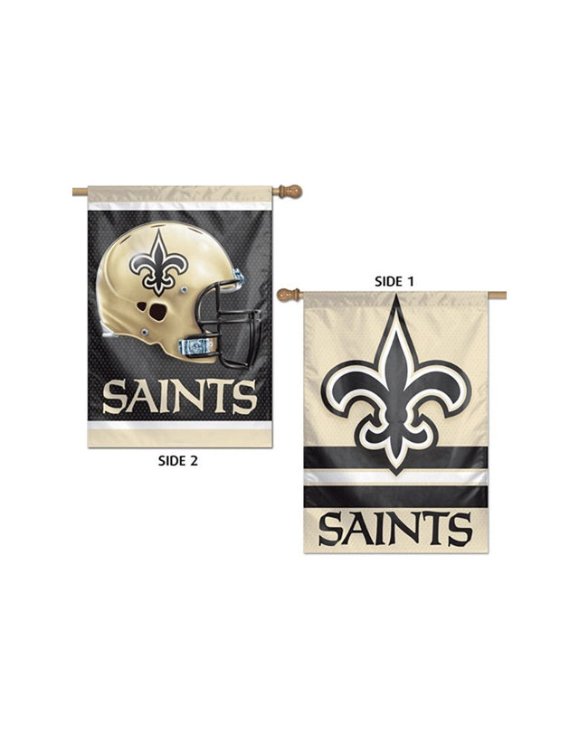 New Orleans Saints Two Sided 28x40 Vertical/Banner Flag