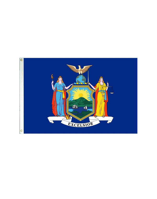New York 3x5 Polyester Flag