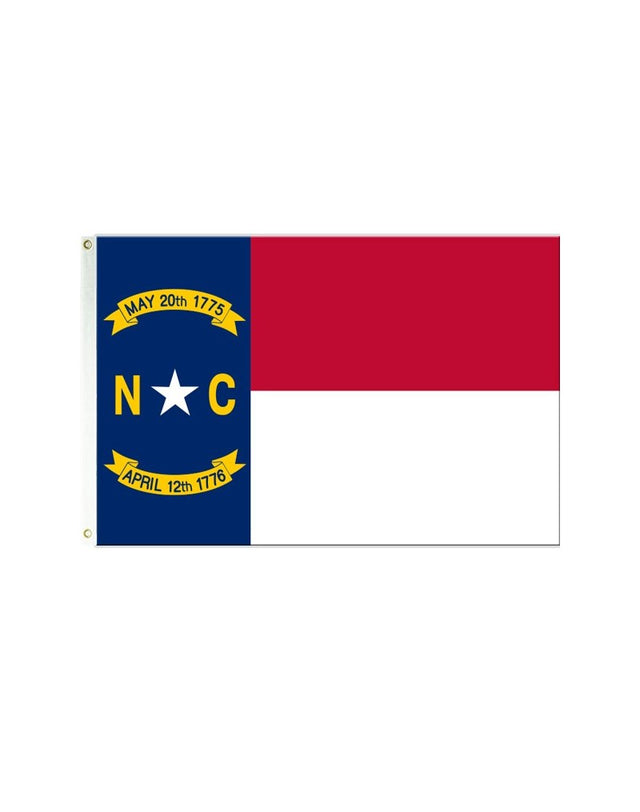 North Carolina 3x5 Polyester Flag