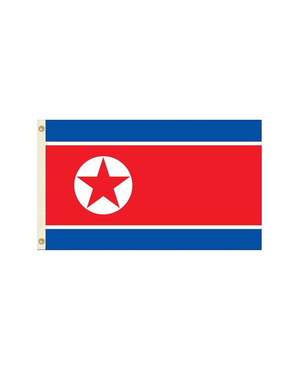 Democratic People's Republic of Korea 3x5 Polyester Flag