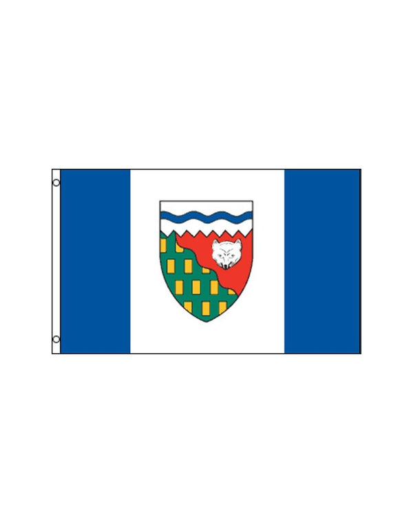 Northwest Territories 3x5 Polyester Flag