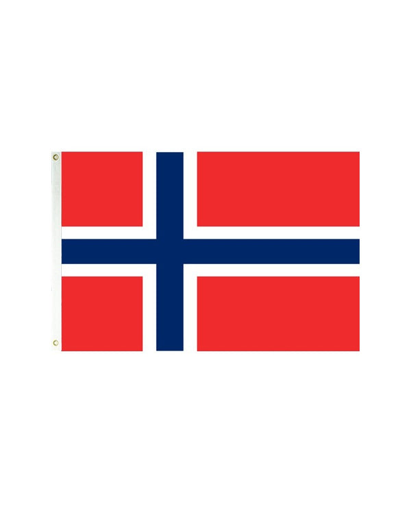 Norway 3x5 Polyester Flag