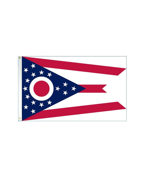 Ohio 3x5 Polyester Flag