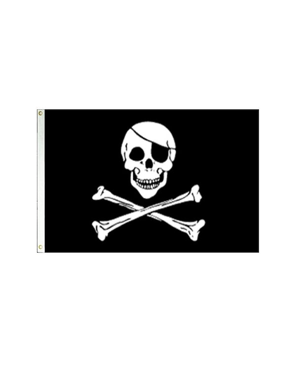 Pirate 3x5 Polyester Flag